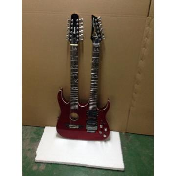 Custom martin guitars Ibanez martin acoustic strings JEM martin 7V acoustic guitar martin Red guitar strings martin Double Neck Acoustic Electric 6 12 Strings Guitar