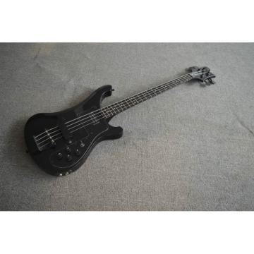 Project 4003 Black Star With Black Hardware 4 String Bass