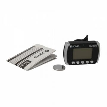 JMT Clip on Tuner and Metronome for Guitar Violin Bass