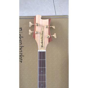 Custom Walnut Body Lemmy Kilmister  Rickenbacker 4003 Matte Carved Natural Bass