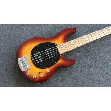 Custom Sunburst Music Man Sting Ray 5 Bass 9 V Battery Passive Pickups