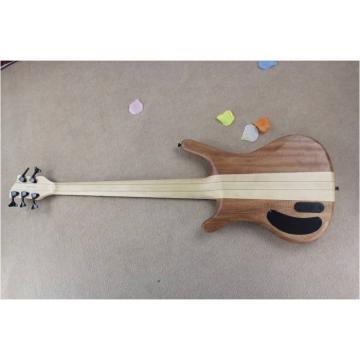 Custom Warwick 5 Strings Natural Electric Bass