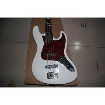 Custom Shop White Fender Jazz Bass