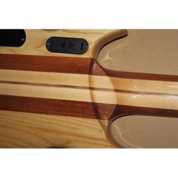 Custom Shop Washburn 6 String One Piece Neck Through Body Bass