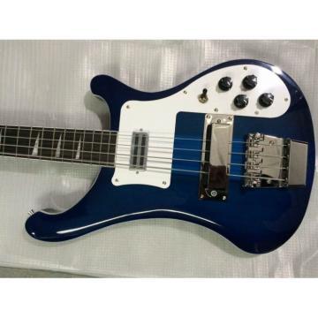 Custom Shop Rickenbacker Midnight Blue 4003 Bass