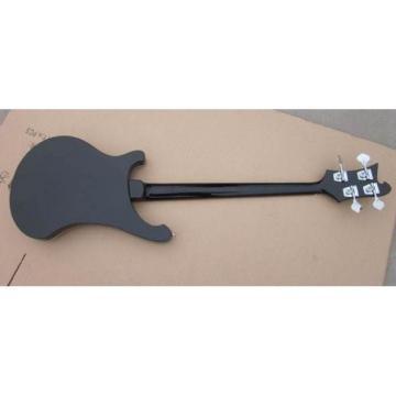 Custom Shop Rickenbacker 4001 Jetglo Black Bass No Fretboard Bindings