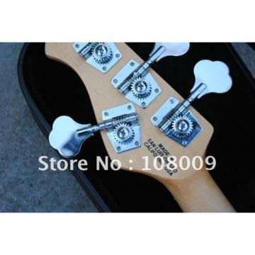 Custom Shop Red Music Man Black Electric Bass
