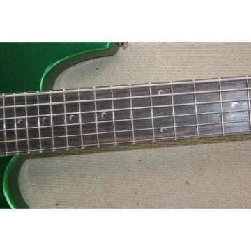 Custom Shop Passive Pickups Bongo Music Man Green 5 Strings Bass