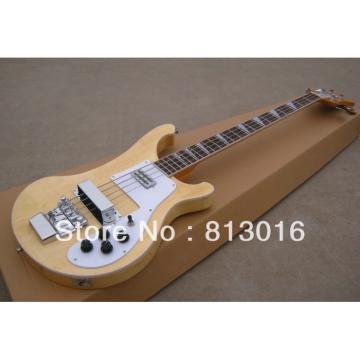 Custom Shop Natural Finish Rickenbacker 4001 Bass