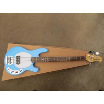 Custom Shop Music Man Sky Blue Electric Bass