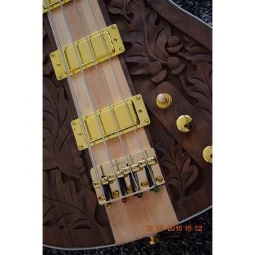 Custom Shop Lemmy Kilmister  Rickenbacker 4003 Matte Carved Natural Bass Walnut