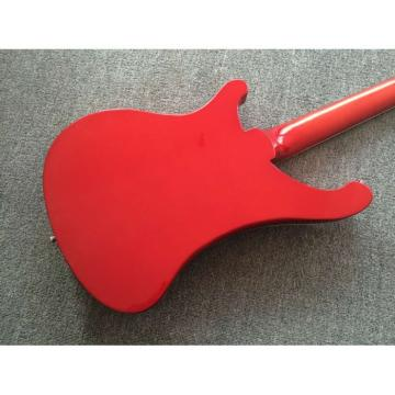 Custom Shop 4003 Rickenbacker Metallic Red 4 String Electric Bass