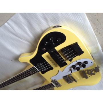 Custom Shop 4003 Double Neck Yellow Bass