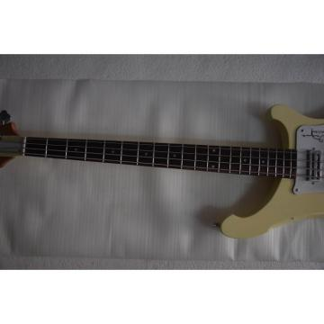 Custom Shop 4001 CS 1997 Arctic White Chris Squire Bass Neck Through