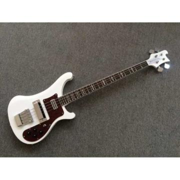 Custom Made Whiteglo 4003 Electric Bass