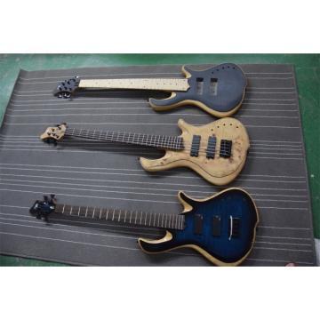 Custom Mayones Built 5 String Sky Blue Bass
