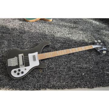 Custom Jetglo 4003 Rickenbacker Black Bass Maple Fretboard