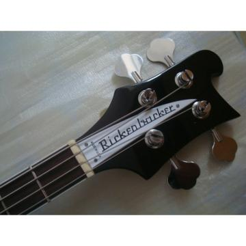 Custom Jetglo 4003 Rickenbacker Black Bass