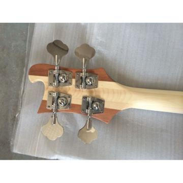 Custom Lemmy Kilmister  Rickenbacker 4003 Natural Alder Wood Special Carvings Bass