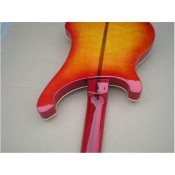 Custom Fireglo Rickenbacker Neck Thru 4003 Bass