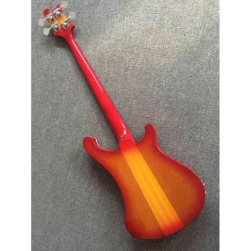 Custom Build Rickenbacker Paul McCartney's 1964 4001 Lefty Bass Psychedelic Paint