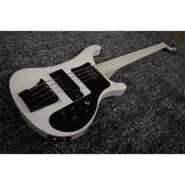 Custom 4003 White Body and Fretboard Rickenbacker Electric Bass
