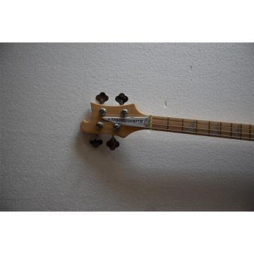 Custom 4003 Neck Thru Body Mapleglo Maple Fretboard Checkerboard Binding Bass