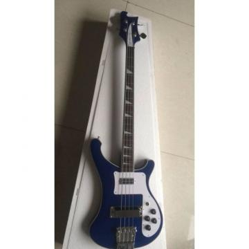 Custom 4003 Blue Checkerboard Bindings Neck Thru Body Rickenbacker Bass