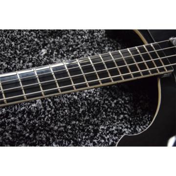 Custom 4003 Black Body and Fretboard Rickenbacker Electric Bass