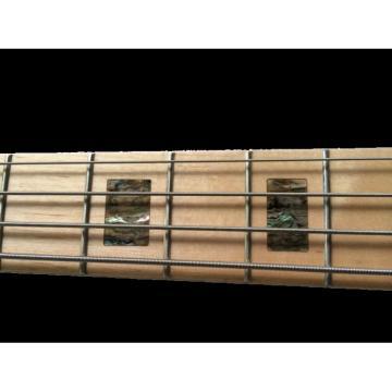 Custom Shop Sparkle Silver Jazz Bass Silver Dust Metallic P Bass Guitar