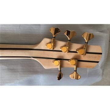 Custom Shop Butterfly Fodera 5 Strings Electric Bass