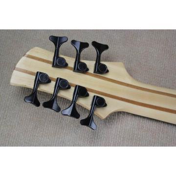 Custom Shop Fordera Birds Eye 7 String Bass Natural