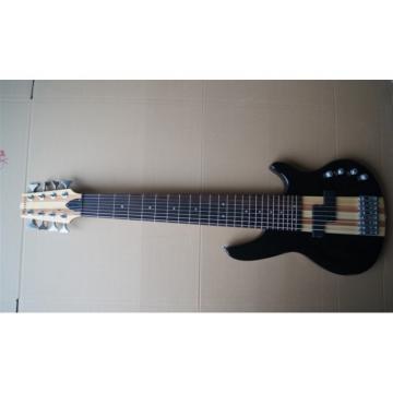 Custom Shop 8 String Black 5 Pcs Wood Electric Ken Smith Bass