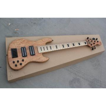 Custom Fordera American Standard 6 String Bass Natural