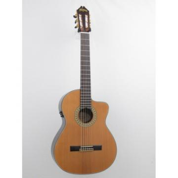 Washburn C104SCE Solid Top Classical Acoustic Electric Guitar
