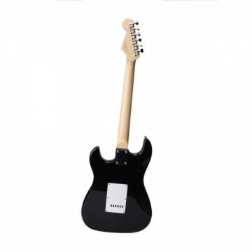 Rosewood Fingerboard Electric Guitar with Amp Turner Bag & Accessories Monochrome