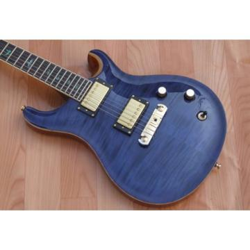 PRS Wave Blue Electric Guitar Gold Hardware