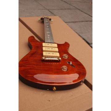 PRS Custom P90 3Pickups Brown Electric Guitar