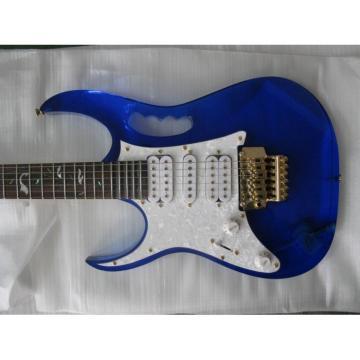 Plexiglas Lucite Blue Acrylic Glass Ibanez Electric Guitar