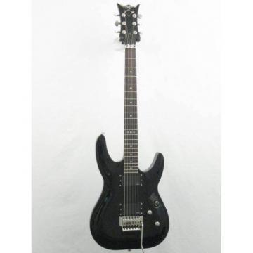 New DBZ Barchetta Eminent FR Black Electric Guitar With Floyd