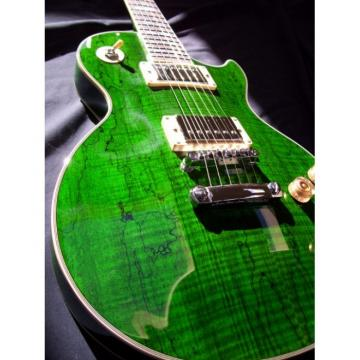 Green Jimmy Logical Electric Guitar