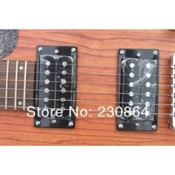 Custom Washbn RX Violet Flame Maple Veneer Electric Guitar