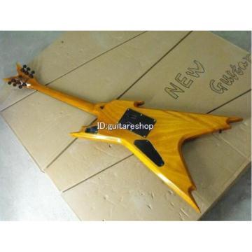 Custom Shop Yellow Strange Dean Electric Guitar