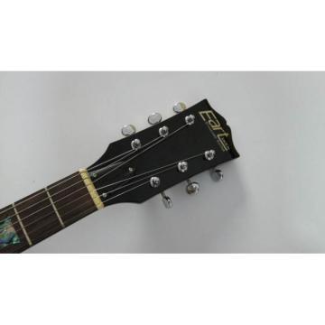 Custom Shop Yellow Standard Electric Guitar