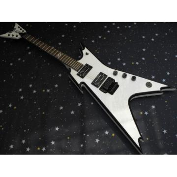 Custom Shop White Dime Razorback Dean Electric Guitar