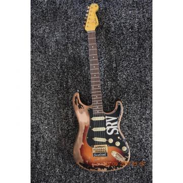 Custom Shop Vintage Fender Stevie Ray Vaughan SRV Relic Aged Electric Guitar