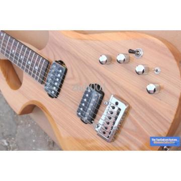 Custom Shop Unique Natural Fly Mojo Electric Guitar