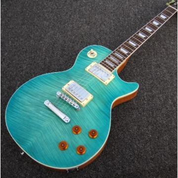 Custom Shop Teal Maple Top Standard 6 String Electric Guitar