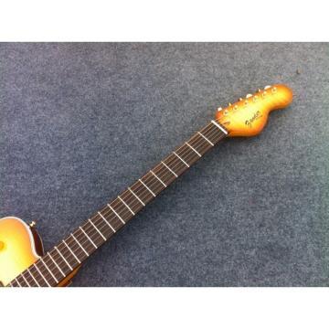 Custom Shop Telecaster Fhole Tiger Maple Top Electric Guitar