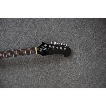 Custom Shop Sparkle Firebird P90 3 Pickups Silver Mist Poly Color Electric Guitar